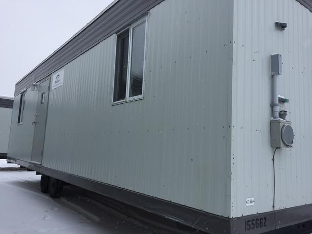 12'x32' Used Construction Site Office Trailer