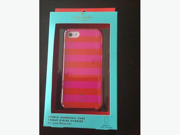 iPhone 5S Kate Spade red and pink case