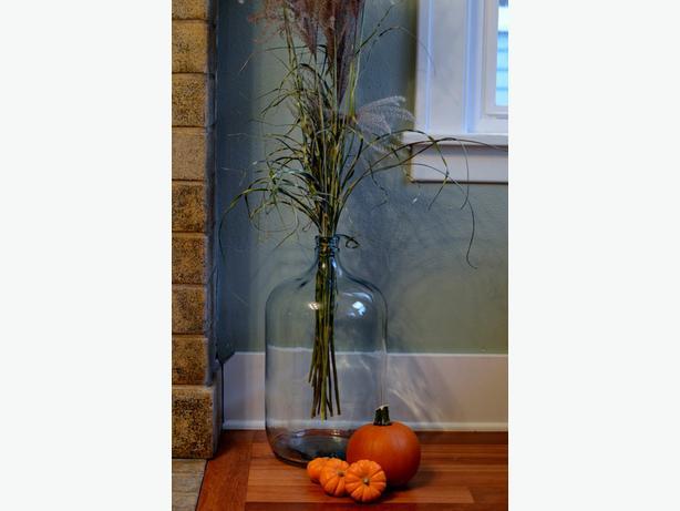 Glass carboys for home/garden decor