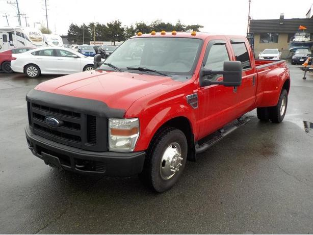 2008 Ford F-350 SD XL Crew Cab Long Bed Dually 2WD Diesel