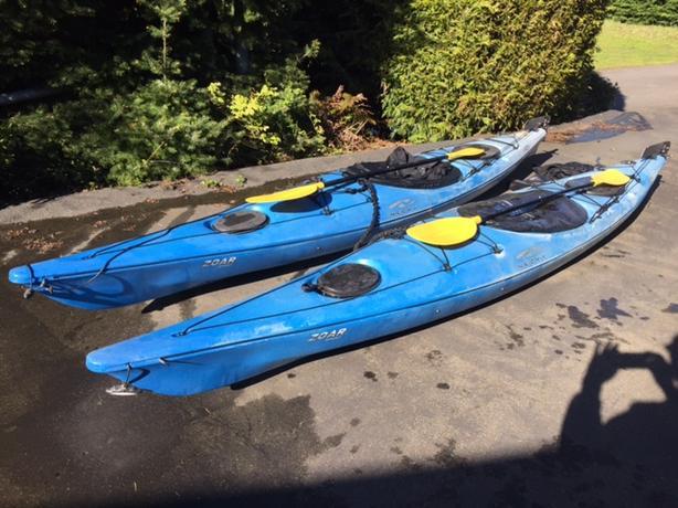 2 Necky Zoar Kayaks & accessories