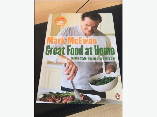 Brand new book from Mark McEwan - Great food at home