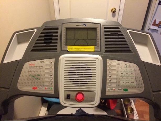 euro sport treadmill