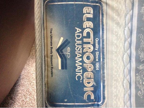 electropedic adjustable bed