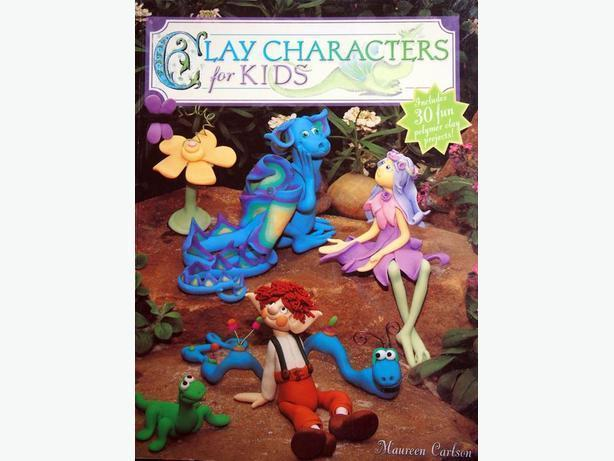 LIKE NEW * CLAY CHARACTERS FOR KIDS PAPERBACK by MAUREEN CARLSON