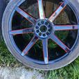 Range rover set 4 mags tires