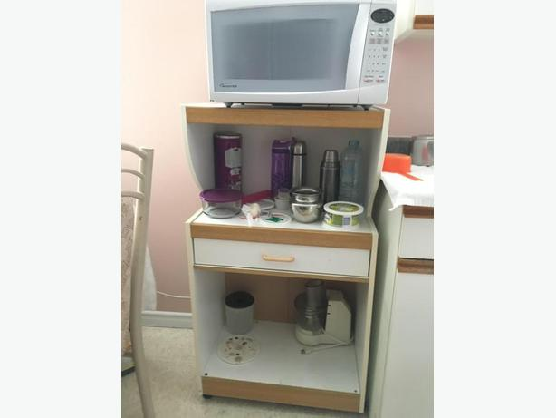 Microwave stand (moving sale)