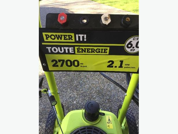 power it power washer 2700 psi