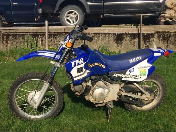 1999 Yamaha TTR 90
