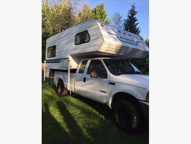 1998 Slumber Queen Adventurer 10' truck camper