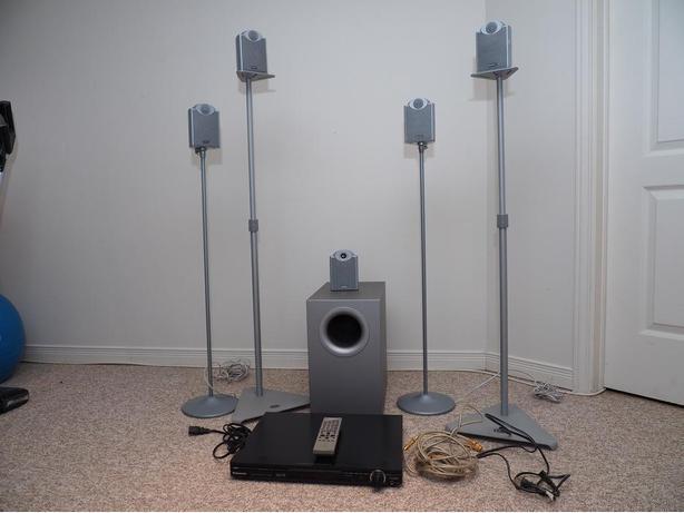 TANNOY- famous manufacturer, 5.1 speaker system