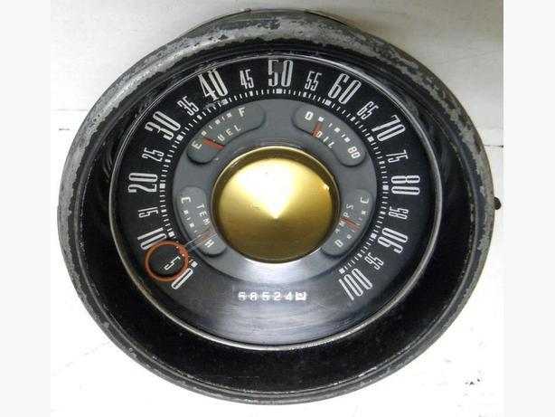 1951 Ford Meteor Dash Cluster Gauges Speedometer Speedo FoMoCo
