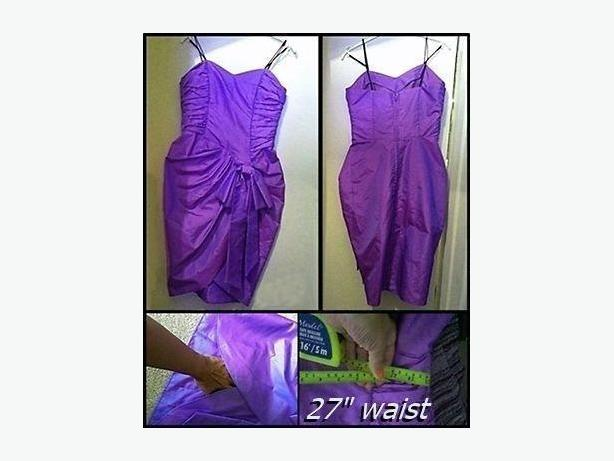 Purple dress, sz small ladies/teens