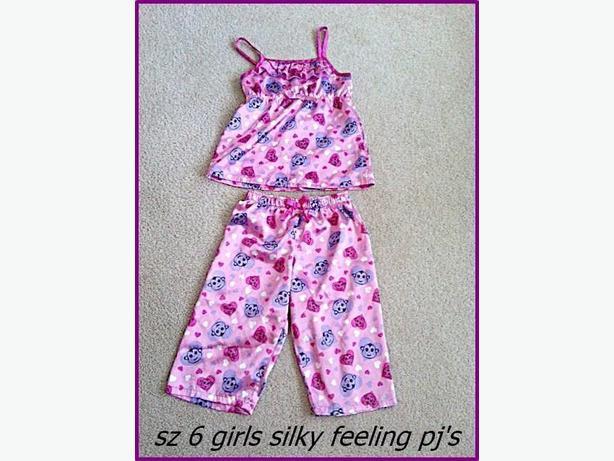 Girls sz 6 Summer PJ's