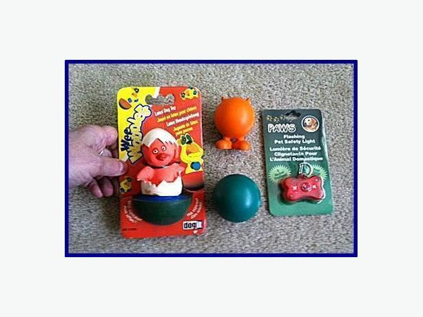 Dog New Toys and Light (on/off/flash) $10