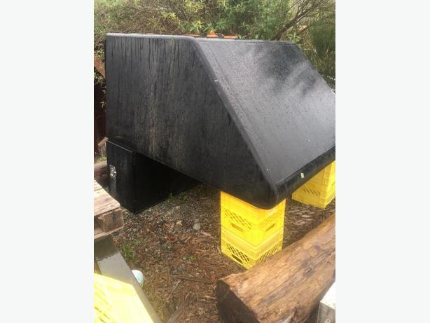 welded aluminum stoarge box