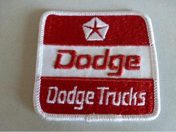 vintage Dodge Trucks badge