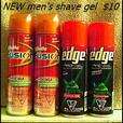 Shave Gel His and Hers (Ladies $15  Men's $10)