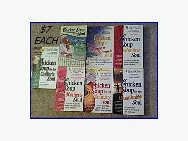 Chicken Soup for the Soul Books $7 Each