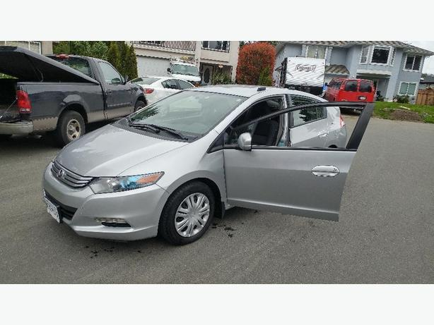2010 Silver Honda Insight Hybrid 90k Extended Honda Plus Warranty 62+ MPG!