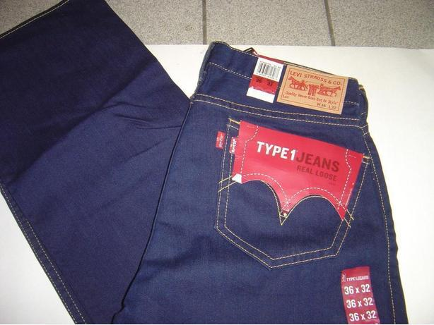 LEVIS Vintage TYPE 1 Real Loose Jeans - 36x32