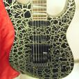 Charvel 475 Platinum Crackle Limited Edition Guitar