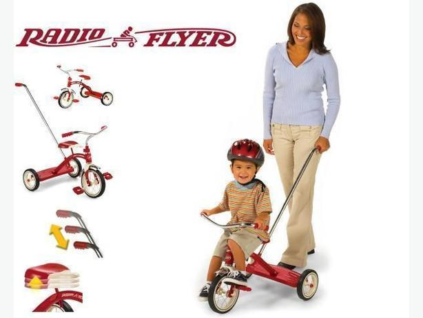 Radio Flyer Tricycle w/ Push Handle