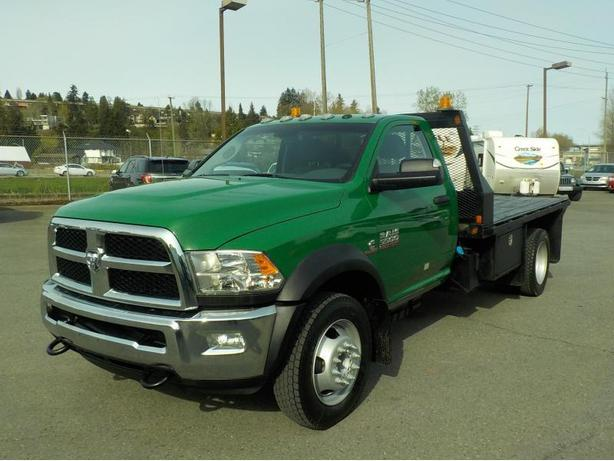 2013 Dodge Ram 5500 Regular Cab 10 Foot Flat Deck 4WD Diesel