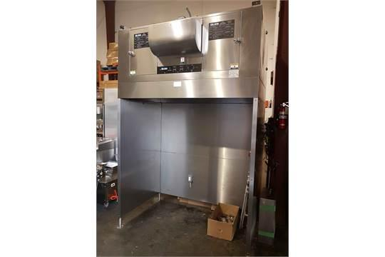 Restaurant Equipment Auction Giles Ventless Hood Outside