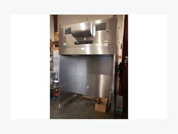 Restaurant Equipment Auction-Giles Ventless Hood