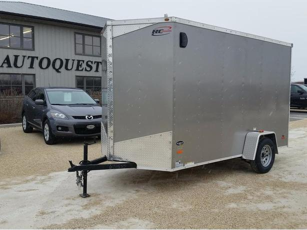 "2017 RC Trailers 6 x 12 x 84"" (7ft) High V-Nose Cargo Trailer"