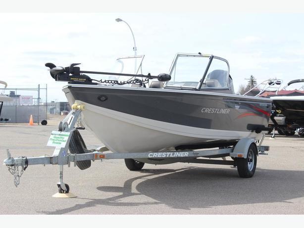 2015 Crestliner 1650 FishHawk w/90hp ELPT 4stroke