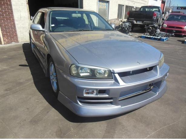 JDM NISSAN SKYLINE R34 GTT SEDAN