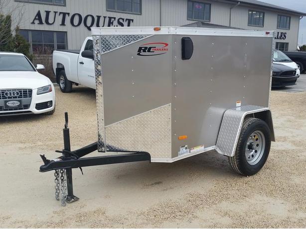 2017 RC Trailers 4 x 6 V-Nose Enclosed Cargo Trailer - 2000k