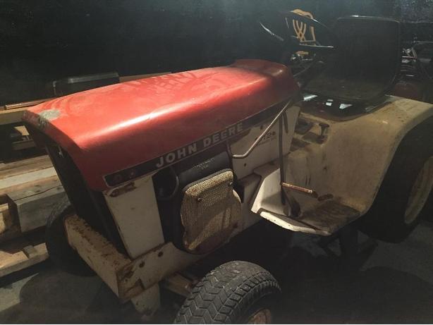 John Deere Patio Tractor