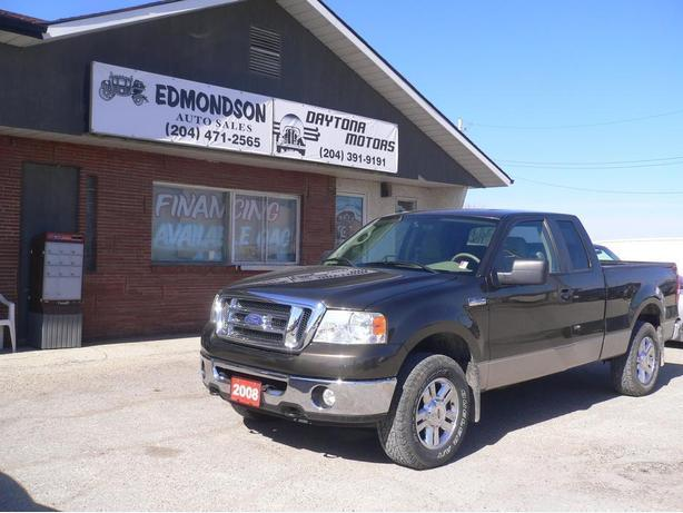 2008 Ford F-150 XLT 4X4, Supercab