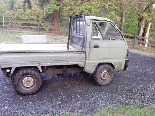 !991 suzuki carry 4x4 West Shore: Langford,Colwood ...