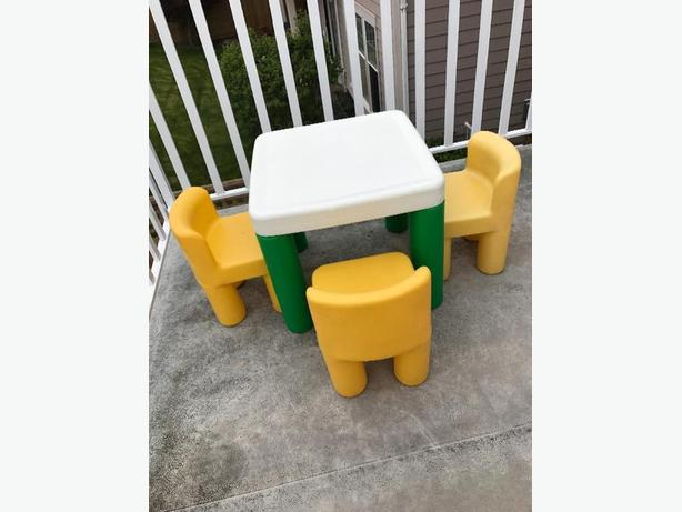Little Tikes Desk And 3 Chairs Saanich Victoria
