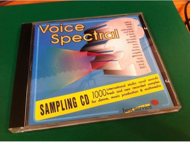 Voice Spectral Sample CD / Sample Pack West Shore: Langford ...