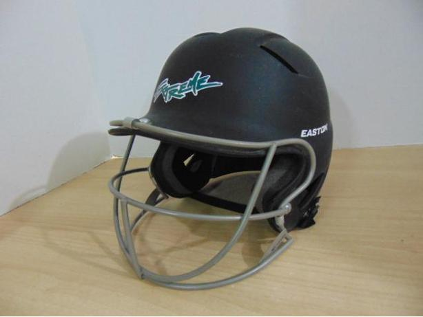 Baseball Helmet With Cage Back Catcher Child Size 65 75 Ages 7