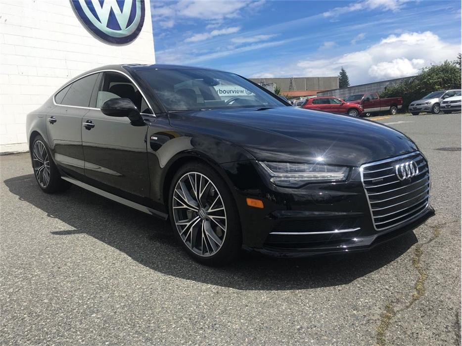 2016 Audi A7 Tdi Technik With Leather Seats Outside