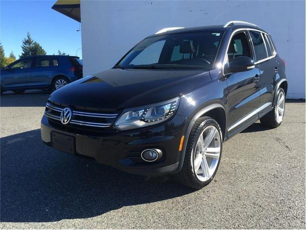 2014 Volkswagen Tiguan Highline 4Motion R-Line (with leather seats)