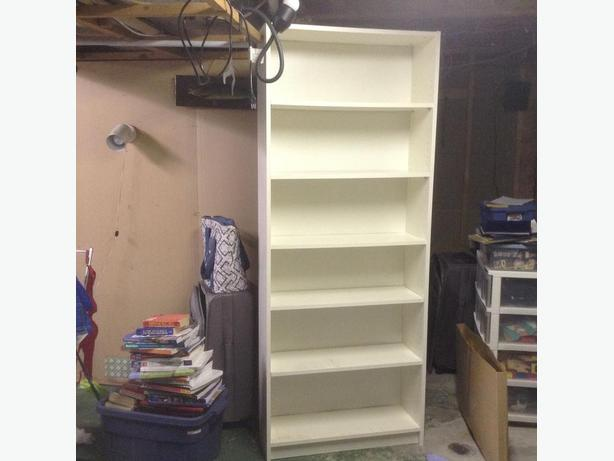 White solid Bookcase