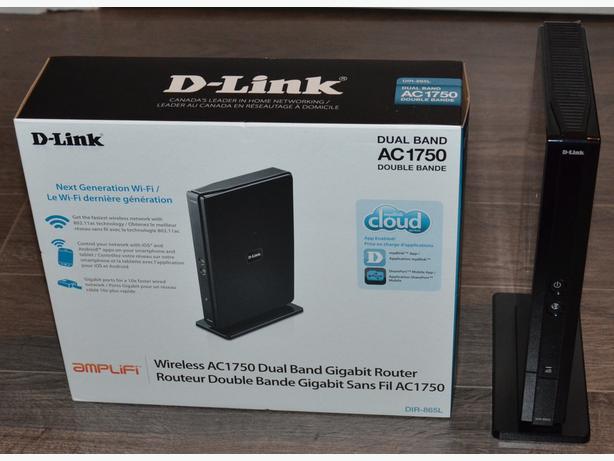 D-LINK DIR-865L AC 1750 Simultaneous Dual Band 2.4GHZ, 5GHZ AC,N,B,G,A