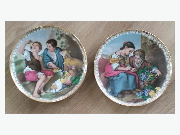 Vintage Porcelain Plates (REDUCED)