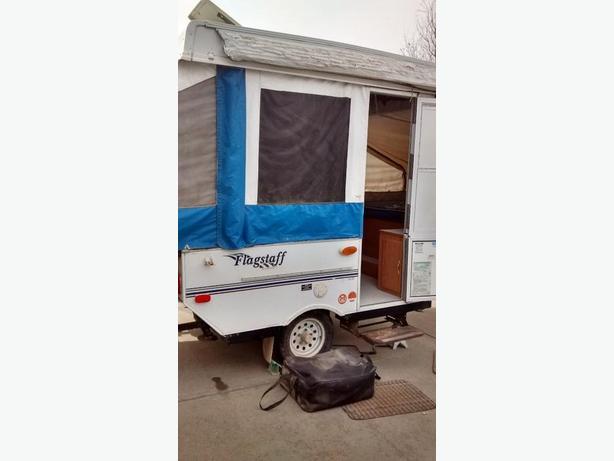 2003 flagstaff tent trailer