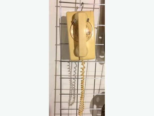 Vintage wall dial phone