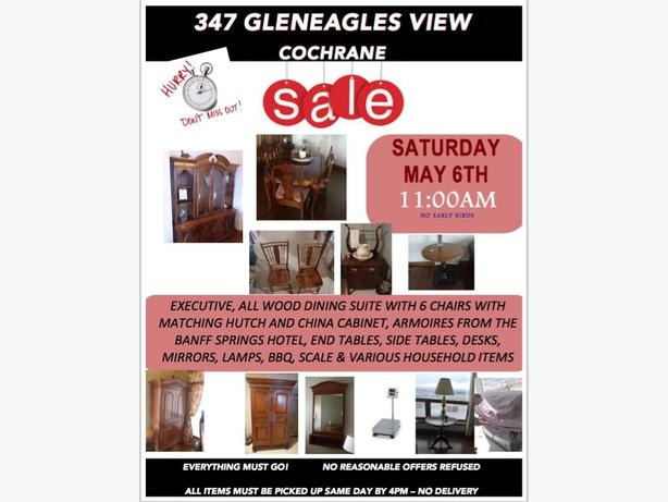 ARMOIRES  - SALE SATURDAY MAY 6 11AM