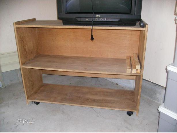 Solid wood shelf