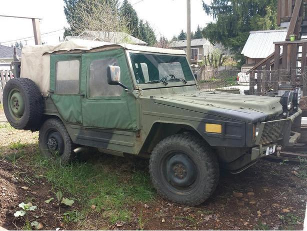 Bombardier Iltis Military truck